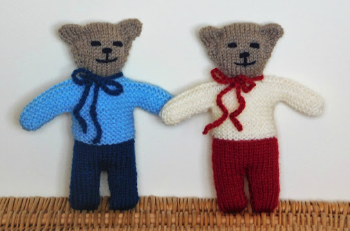Wilfred Knit Teddy Bear