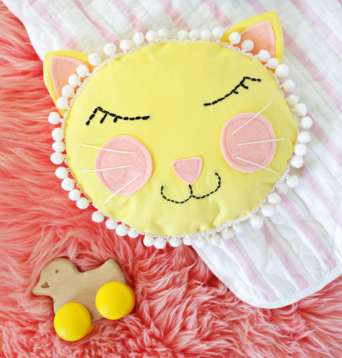 Cat Nap DIY Pillow