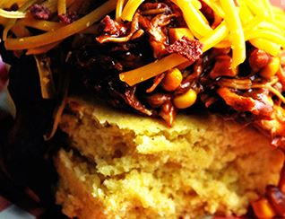 BBQ Chicken Cornbread Chowdown