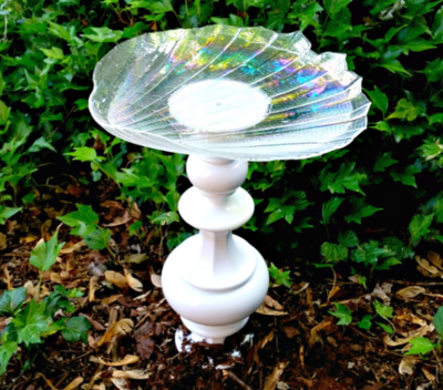 Lamp DIY Bird Bath