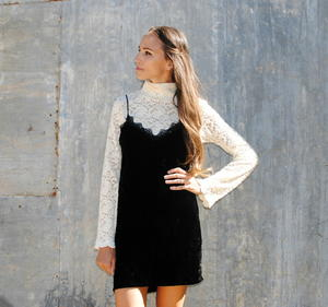 Lovely Lace DIY Slip Dress