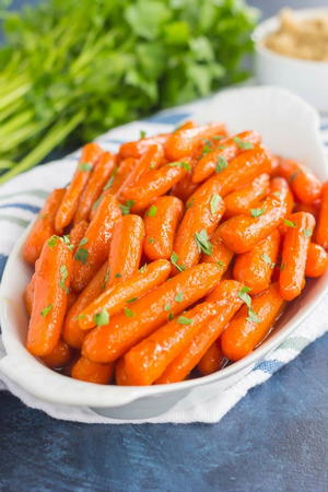 Maple Brown Sugar Carrots