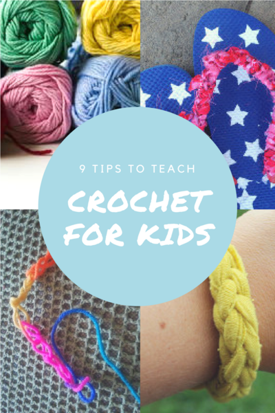 Tips to Teach Crochet for Kids