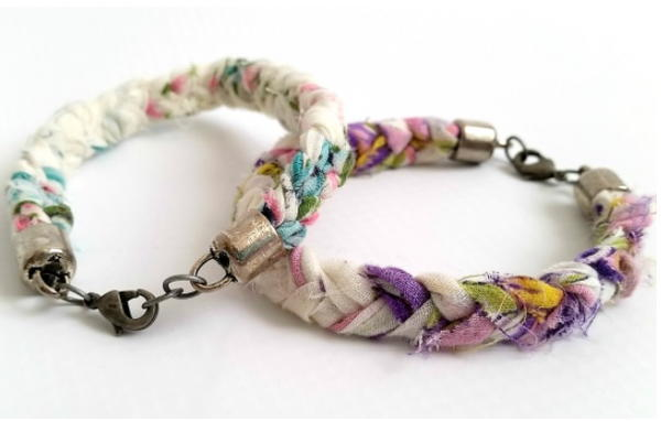 Anthropologie Boho Braided Bracelet