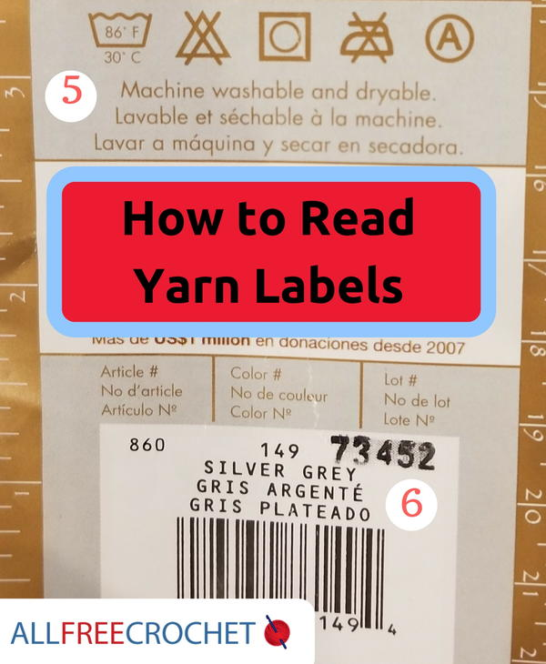 How to Read a Yarn Label
