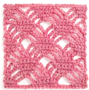 Spider Web Crochet Stitch Tutorial
