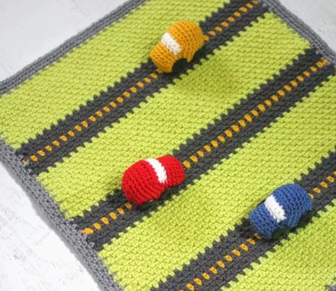 Super Speedsters Blanket Pattern