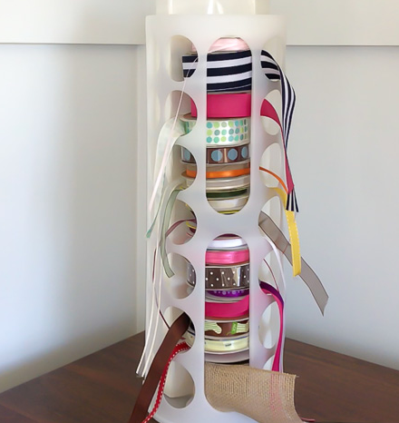 Ribbon Organizer Diy Ikea Hack Diyideacenter Com