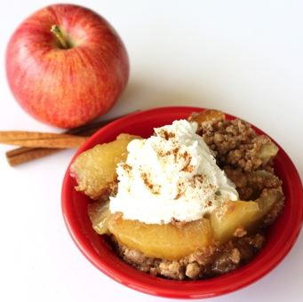 Easy Slow Cooker Apple Dump Cake