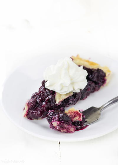Grain-Free Blueberry Pie