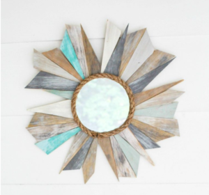 Beach Inspired DIY Mirror