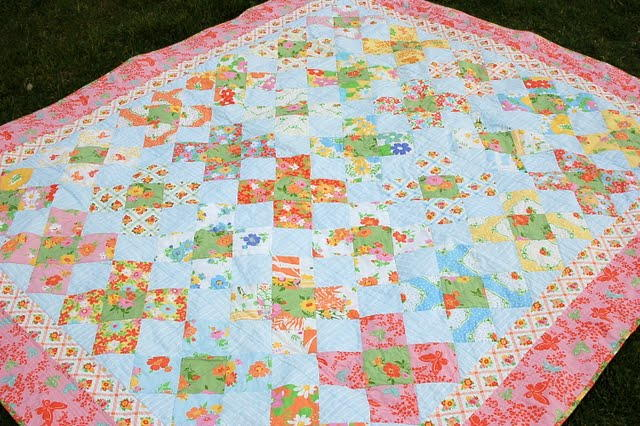 Vintage Dreams Twin Bed Quilt FaveQuilts.com