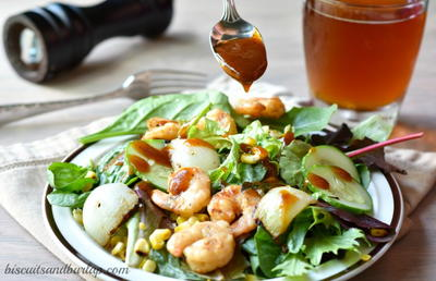 Barbecue Shrimp Salad