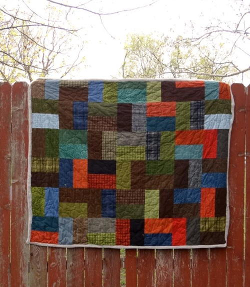 Single Slice Layer Cake Quilt