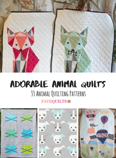 Animal Quilting Patterns