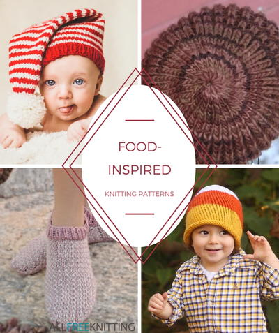 Food-Inspired Knitting Projects
