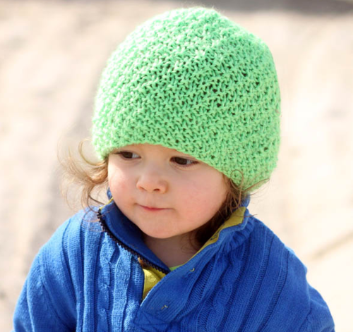 Irish Moss Easy Knit Hat