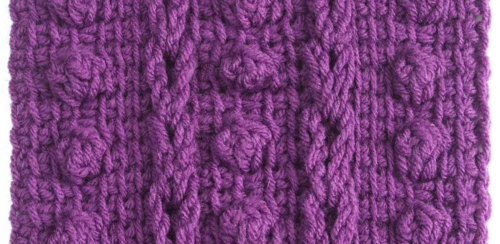 Cables and Bobbles Tunisian Crochet Patterns Tutorial