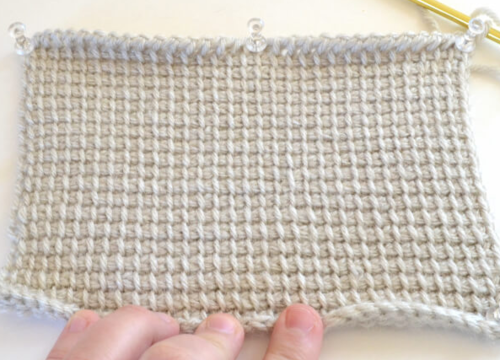 Tunisian Stitch Crochet Tutorial