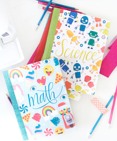 Groovy Notebook Cover Printables