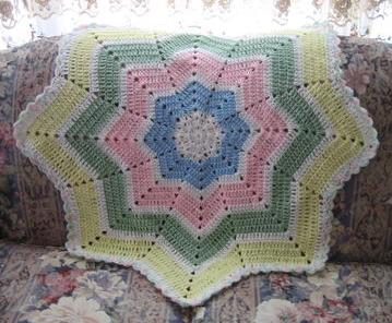 Shooting Star Crochet Baby Blanket Pattern ...