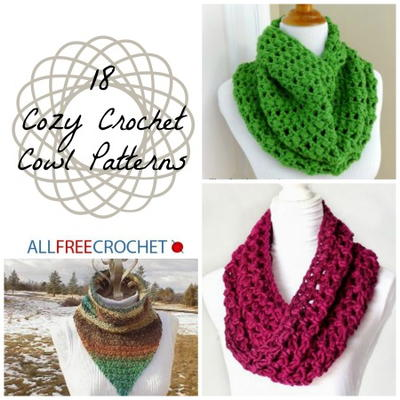 18 Cozy Crochet Cowl Patterns