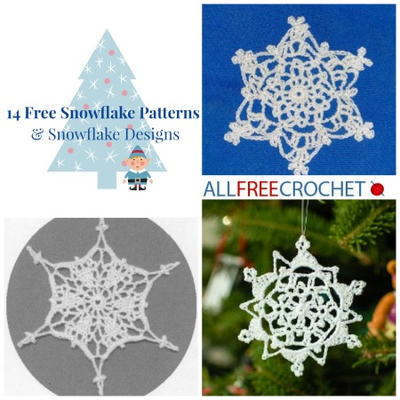 14 Free Snowflake Patterns & Snowflake Designs