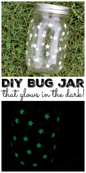 Bug Jar That Glows in the Dark