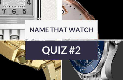 Name the Mystery Watch