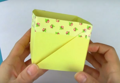 Simple Origami Box with Regular Paper