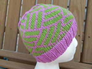 Pink subLime Knit Hat