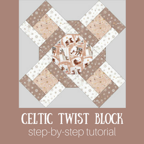 Celtic Twist Quilt Block