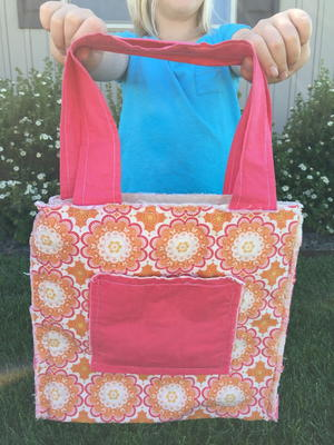 The Easiest DIY Bag on the Planet to Sew