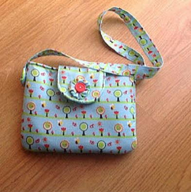 Little Girl Purse with Flap