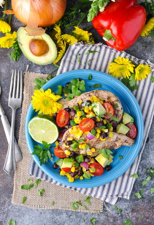 10-Minute Cowboy Caviar Chicken