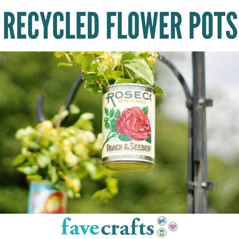 Recycled flower pots 29 water bottle planters and more for Recycled flower pots