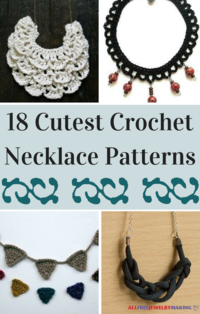 18 Cutest Crochet Necklace Patterns