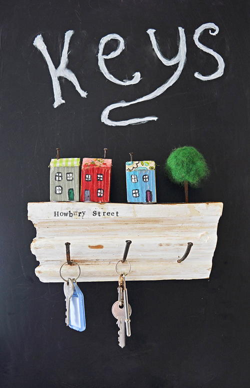 Super Cute Wall Key Rack