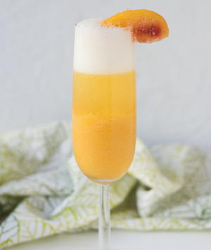 Party-Ready Peach Bellini