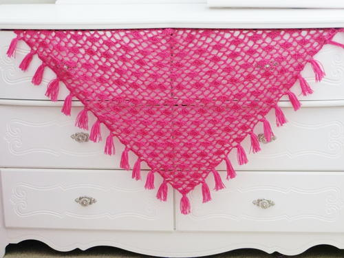 Tyra Triangle Shawl