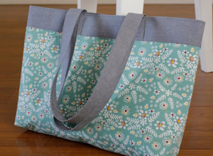 French Market DIY Tote