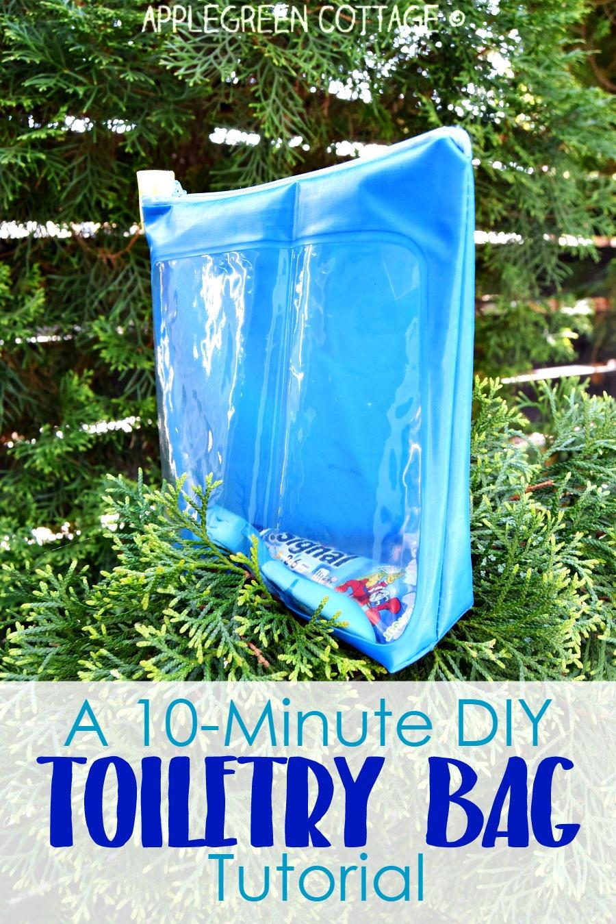 DIY Toiletry Bag Tutorial