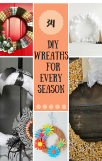 37 DIY Wreaths for Every Season