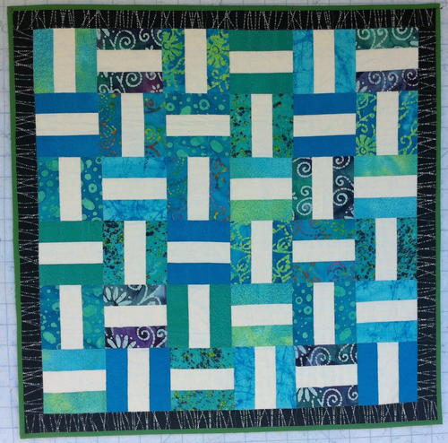 Seashore Rails Strip Quilt