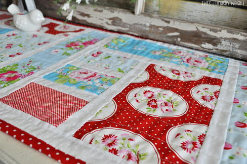 Tea and Biscuits Table Runner Tutorial