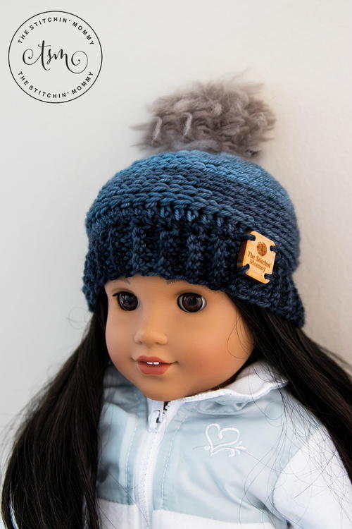 "My Favorite Beanie for 18"" Dolls"