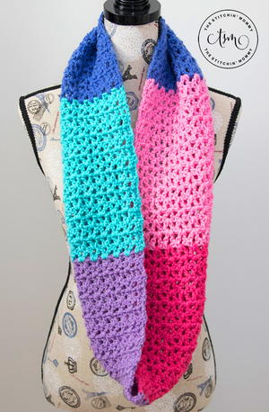 Berry Cakes Infinity Scarf