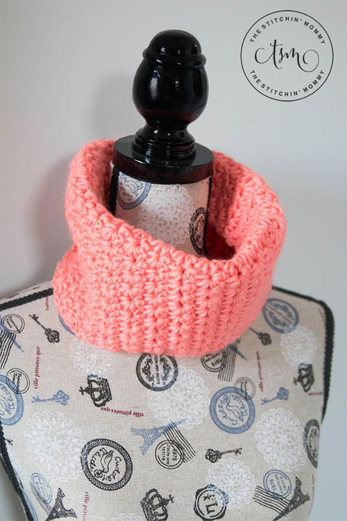 Coral Crush Cowl