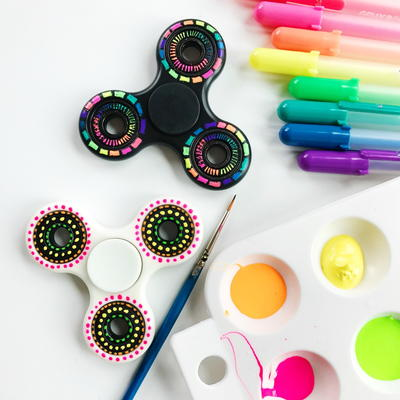 Decorate a Fidget Spinner