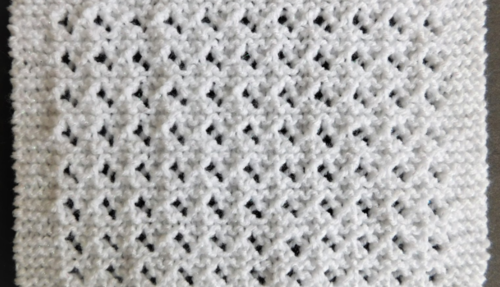 Lovely Lace Baby Blanket Pattern